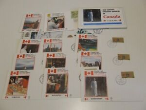 VATICAN CITY 1984 POPE JOHN PAUL VISIT TO CANADA COMMEM COVERS IN PACK