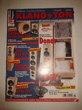 Audio Hi-Fi Lautsprecher Boxen KLANG UND TON Magazin Selbstbau Vintage 2003