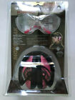 Mossy Oak LULA Shooters Protection Combo Shoot safety PINK Camo Muff 065126 Glas