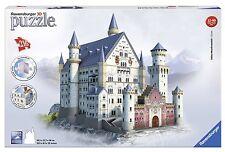 Ravensburger 12573-CASTILLO NEUSCHWANSTEIN-216 Partes 3d puzzle-bauwerke NUEVO