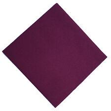 50 Mank Linclass Linen Feel Paper Napkins 40 x 40cm - Aubergine