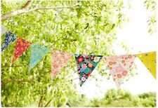 3 Meter - Flower Banner / Bunting Flag Birthday Party Girl Room Decoration