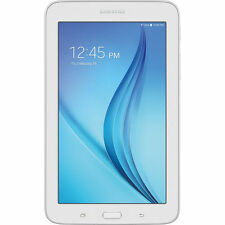 "Samsung Galaxy Tab E Lite 7"" 8GB Android 4.4 White Tablet #SMT113NDWAXA"