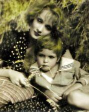 8x10 Print Marlene Dietrich Dickie Moore Blonde Venus 1932 #MDDM
