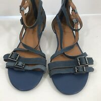 Bass Womens Suede Leather Sandals Size 6