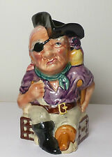 Fantastico Shorter & Son Long John Silver carattere Brocca Staffordshire Pottery
