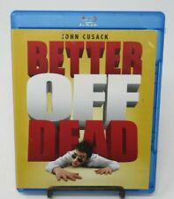 Better Off Dead Blu-Ray Movie, John Cusack, Diane Franklin, David Ogden Stiers