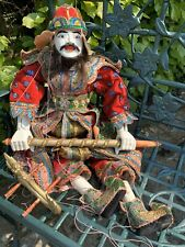 Large Vintage Wooden Puppet Marionette Approx 75 X 45cms