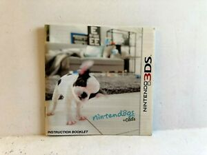 Nintendogs And Cats Nintendo 3DS MANUAL ONLY Authentic