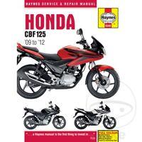 Honda CBF 125 M 2010 Haynes Service Repair Manual 5540