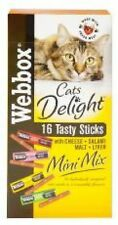 Webbox Cats Del Mini Mix Salami Cheese Liver & Malt 32g x 10