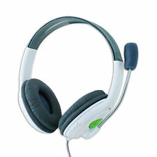 Headset for Xbox 360 Live Online Multiplayer Gaming Headphones Volume Mic Switch