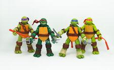"""Set 4 x TMNT Teenage Mutant Ninja Turtles action figures Toy Doll 4.7"""" 12 cm New"""