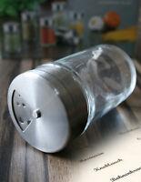 18 Edelstahl Gewürzstreuer + 32 Gewürzetiketten 4fach Gewürzdosen Salzstreuer