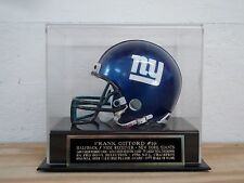 Display Case For Your Frank Gifford Giants Autographed Football Mini Helmet