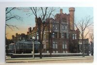 AK Chicago Mrs. Potter Palmer´s Home on Lake Shore Drive 1911 gebraucht #PC631