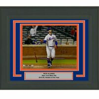 FRAMED Autographed/Signed PETE ALONSO New York Mets 16x20 Photo Fanatics COA