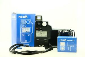 POLARIS FLASH LIGHT METER with SPOTVIEW 10 - WORKING!!