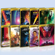 Star Trek - Limited Edition Steelbook Collection (Blu-ray) BRAND NEW! 1-10