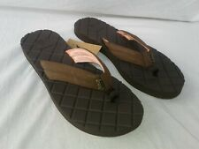 9e594cd37 New Women s Reef Dreams II Flip Flop Cushion Brown (Pink lining) Sandal  Shoes