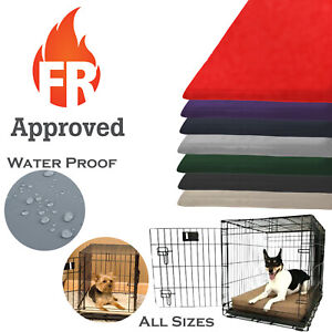 DOG CRATE MAT-WATER RESISTANT +++VARIOUS COLOURS+++WITH FOAM INNER