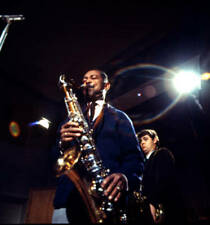 OLD MUSIC PHOTO American Jazz Saxophonist Don Byas And Danish Saxophone Player