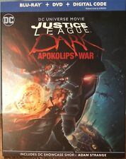 Justice League Dark: Apokolips War Blur-Ray + Dvd