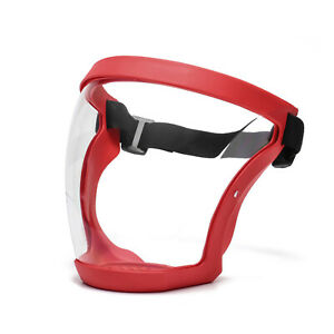 Anti-fog Full Face Shield Super Protective Head Cover Transparent Safety Mask