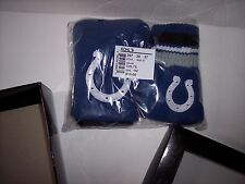NFL INDIANAPOLIS COLTS KIDS / YOUTH KNIT HAT & GLOVE SET REVERSIBLE WINTER HAT