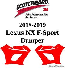 3M Scotchgard Paint Protection Film Pro Series Clear 2018 2019 Lexus NX F-Sport