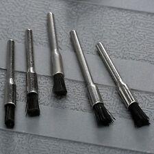 5Pcs Nylon Bristle Grinder Wire Wheel Brush Shank Power Rotary Power Tool Set