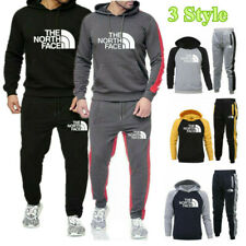 Mens Tracksuit Set Hoodies Track Pants Sweatshirt Jogging Trouser Sportswear