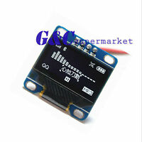 """1/2 White 0.96"""" IIC I2C 128X64 OLED LCD Display Module Arduino/STM32/AVR/51 M45"""