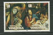 VENEZUELA 1099A MNH PAIR ADORATION OF THE SHEPHERDS BY MAYNO