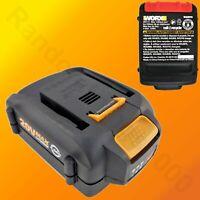 WA3578 20V 4.0AH 72WH WORX Genuine Lithium Ion Battery - Power Share Platform