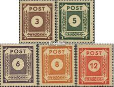 Soviétique Zone (all.occ.) 56-60 (édition complète) neuf 1945 série de chiffres