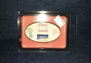 **NEW** Hand Poured Summer Scented Soy Candles Tarts & Votives - Pink Sands