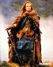 HIGHLANDER 1986 CHRISTOPHER LAMBERT - Russell Mulcahy  JUMBO LOBBY CARD #2