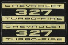 Chevrolet 327 Turbo-Fire Valve Cover Decal Set