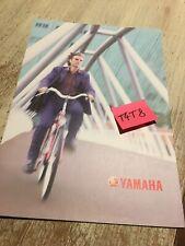 Yamaha Vélo électrique PAS XPC26 brochure catalogue prospectus XPC 26