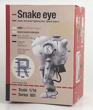 Max Factory Maschinen Krieger Snake eye 1/16 Action figure Robert W.Stenglein