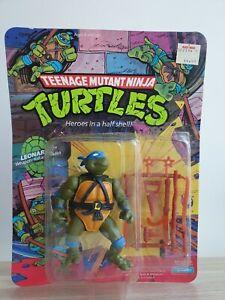 TMNT Ninja Turtles 1988 Leonardo Hard Head Playmates Sealed