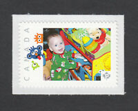 BABY BOY WITH TOYS = picture postage MNH Canada 2013 [p3sn09]