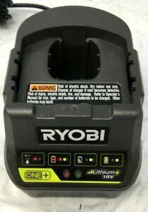Ryobi P118B ONE+ 18V Li-Ion Battery Charger, LN