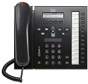 Cisco 6961 CP-6961-C-K9 Unified 12-line IP Phone with Anti-Glare LCD Display