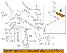 MERCEDES OEM SLK55 AMG Wiper Washer-Windshield-Washer Hose Cover 1728690007