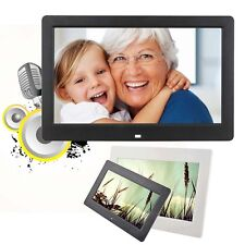 10.1 inch HD Digital Photo Frame Picture Mult-Media Player MP3 MP4 For Gifts Bʌ
