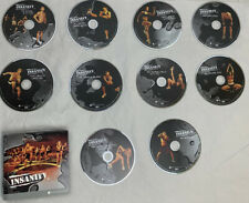 INSANITY workouts - INDIVIDUAL REPLACEMENT DVD DISCS, BOOKS by Beachbody