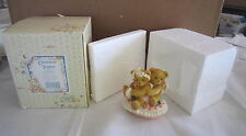 Cherished Teddies by Enesco HEART SHAPED CUPID COVERED BOX NEW NIB 111015