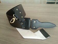 Strop for straight razor( leather cordovan )